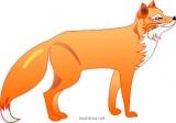 Рисование лисицы пошагово